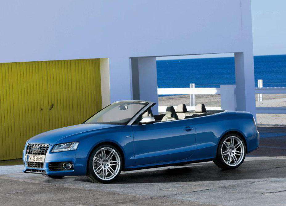Audi S5 Cabriolet cost 2008