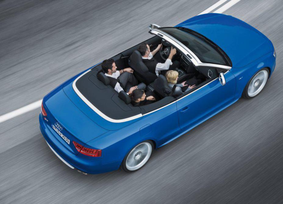 S5 Cabriolet Audi Specifications 2012