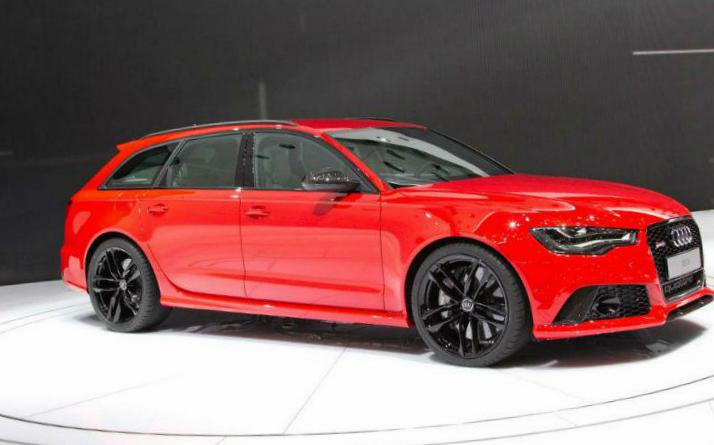 Audi A6 Avant Specifications 2012