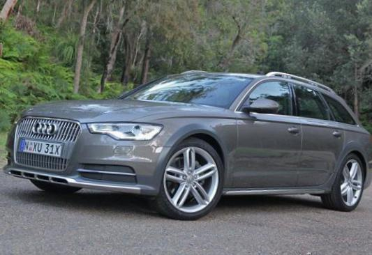 Audi A6 allroad quattro model hatchback