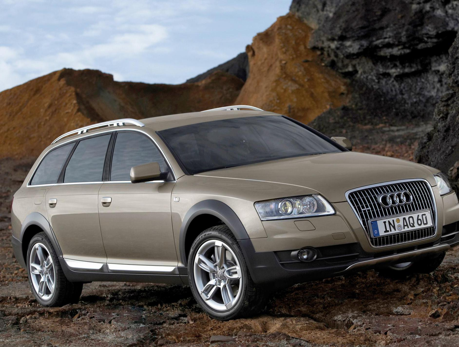 A6 allroad quattro Audi parts 2008