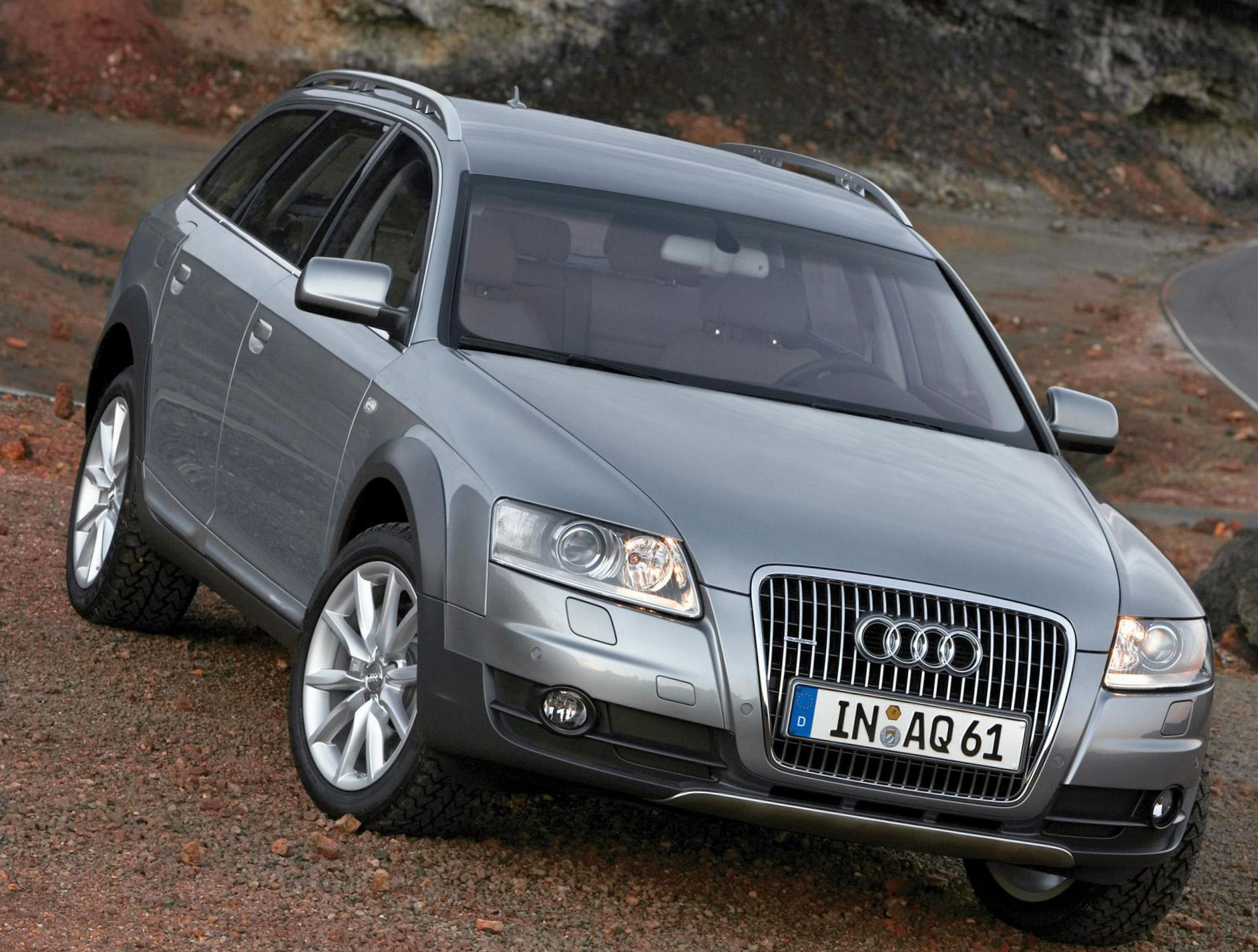 Audi A6 allroad quattro parts wagon