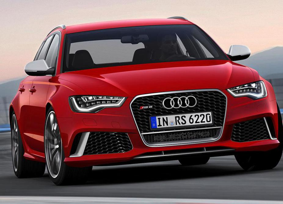 Audi RS6 Avant how mach coupe