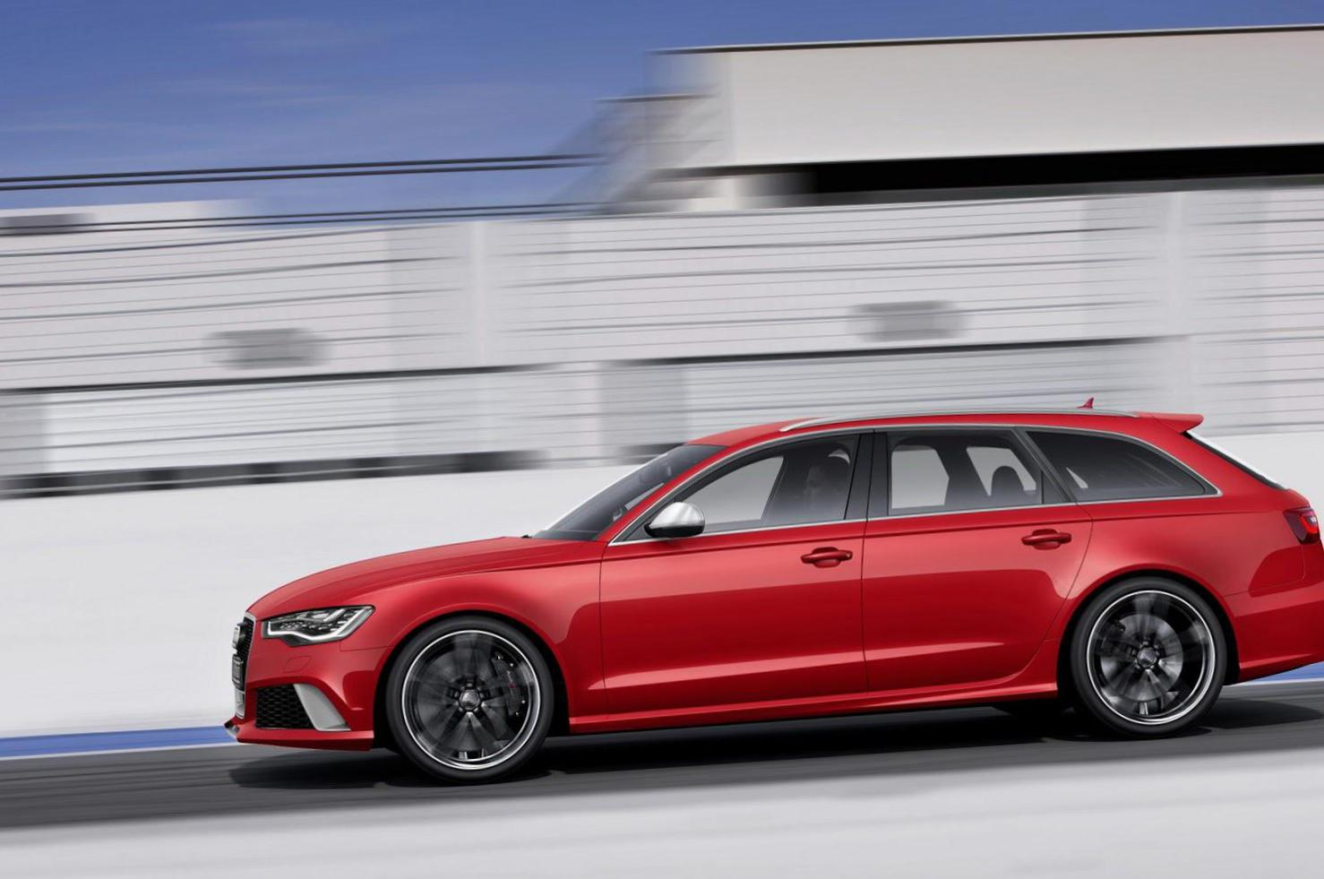 Audi RS6 Avant model coupe