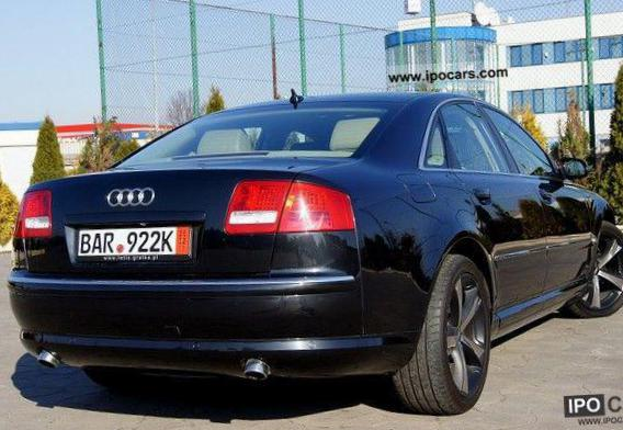 S8 Audi Specification 2007