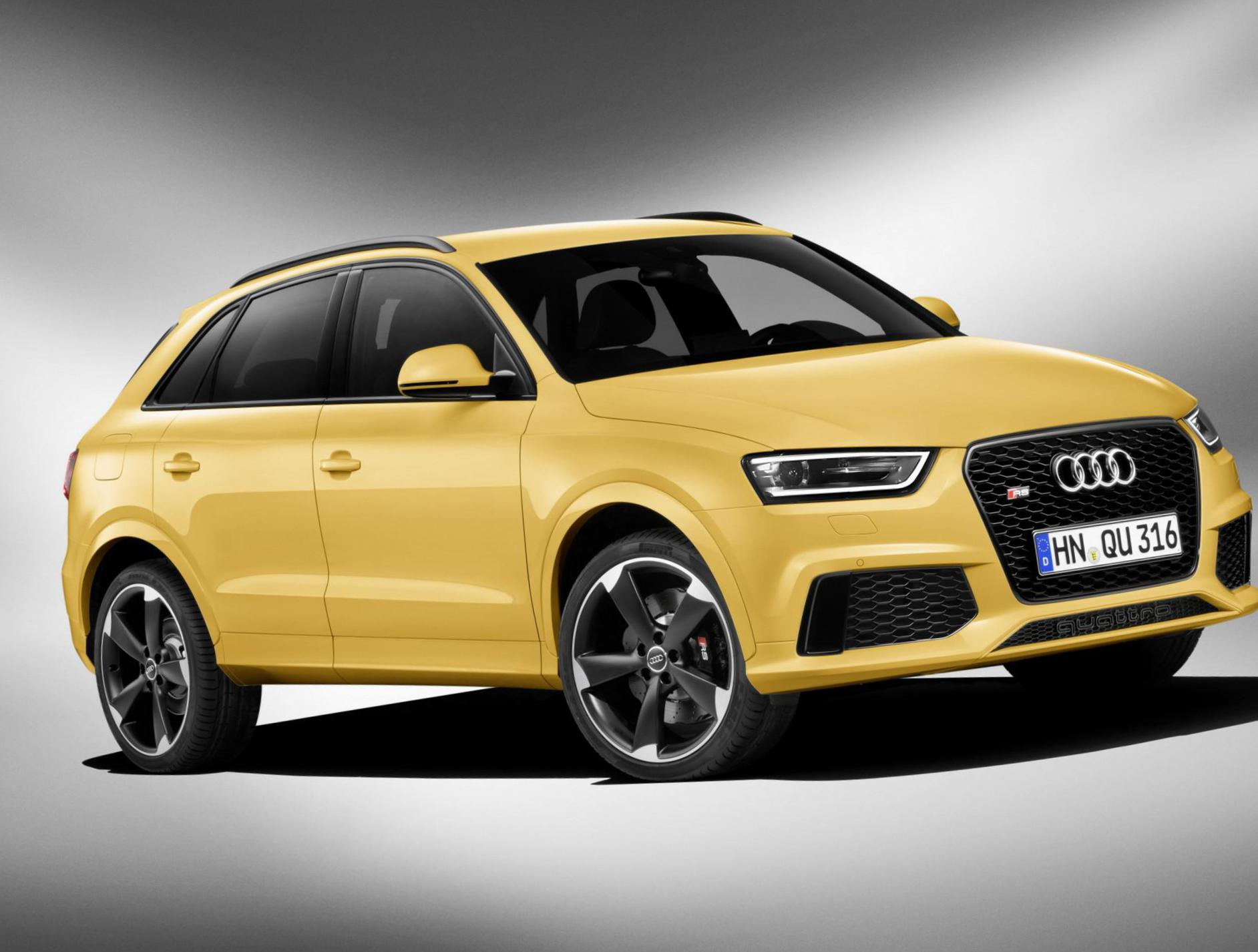 Audi RS Q3 parts hatchback