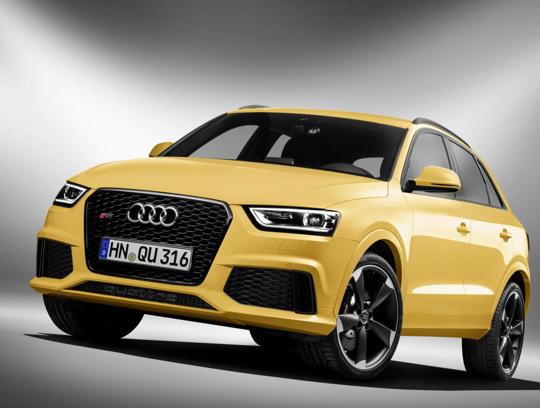 RS Q3 Audi approved 2013