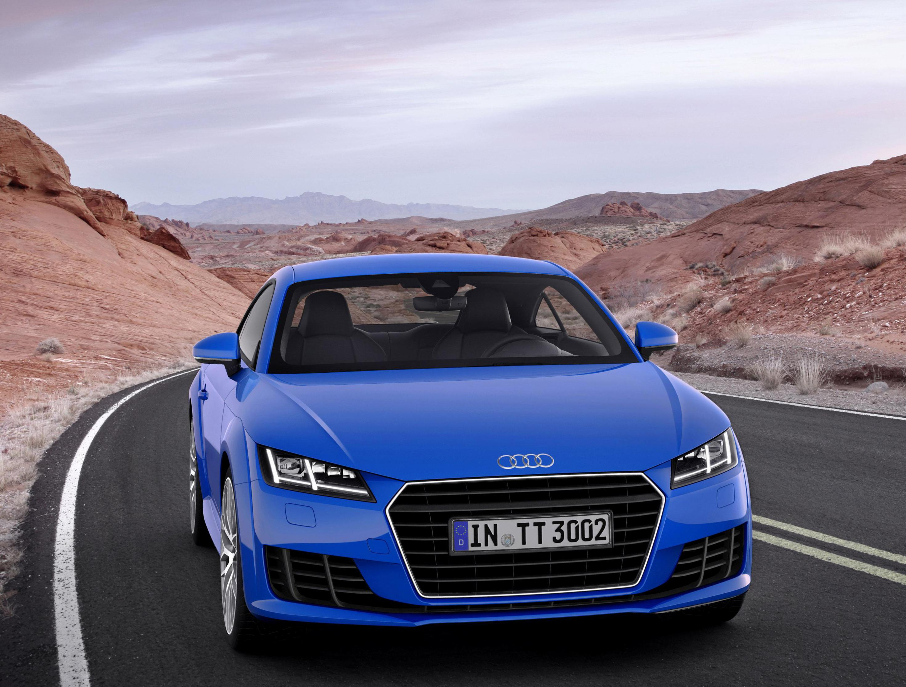 Audi TT Coupe Specifications 2013
