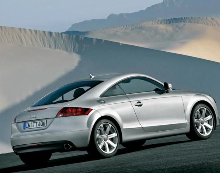 TT Coupe Audi approved hatchback
