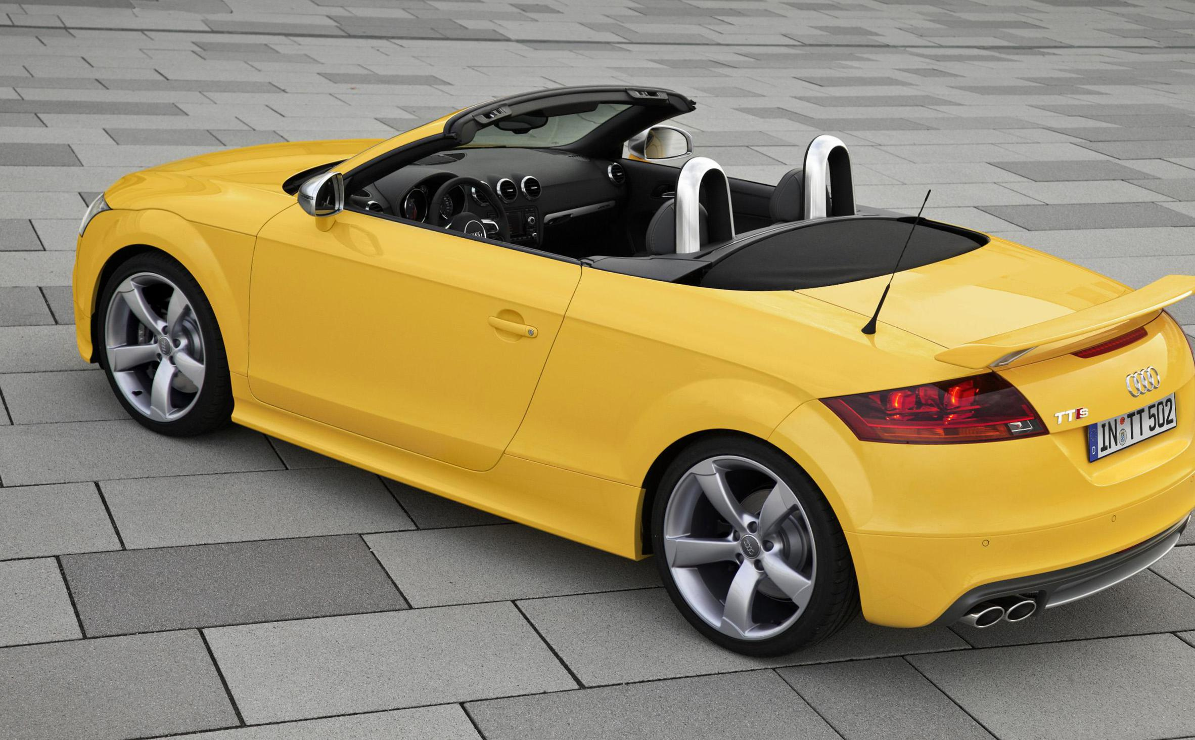 Audi TTS Roadster Specifications 2015