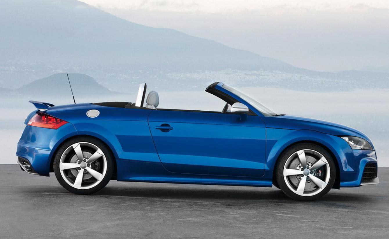 Audi TT RS Roadster how mach cabriolet