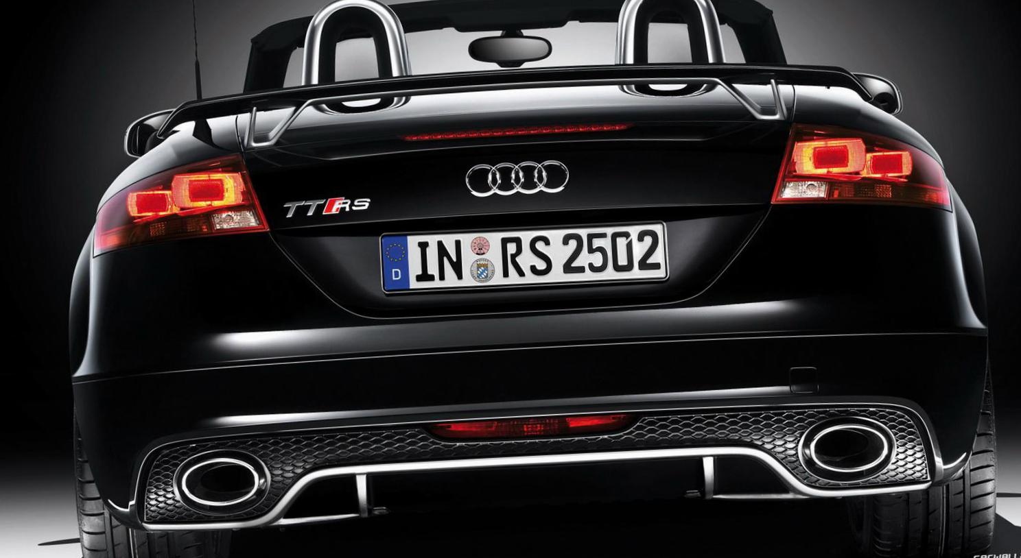Audi TT RS Roadster Specifications 2013