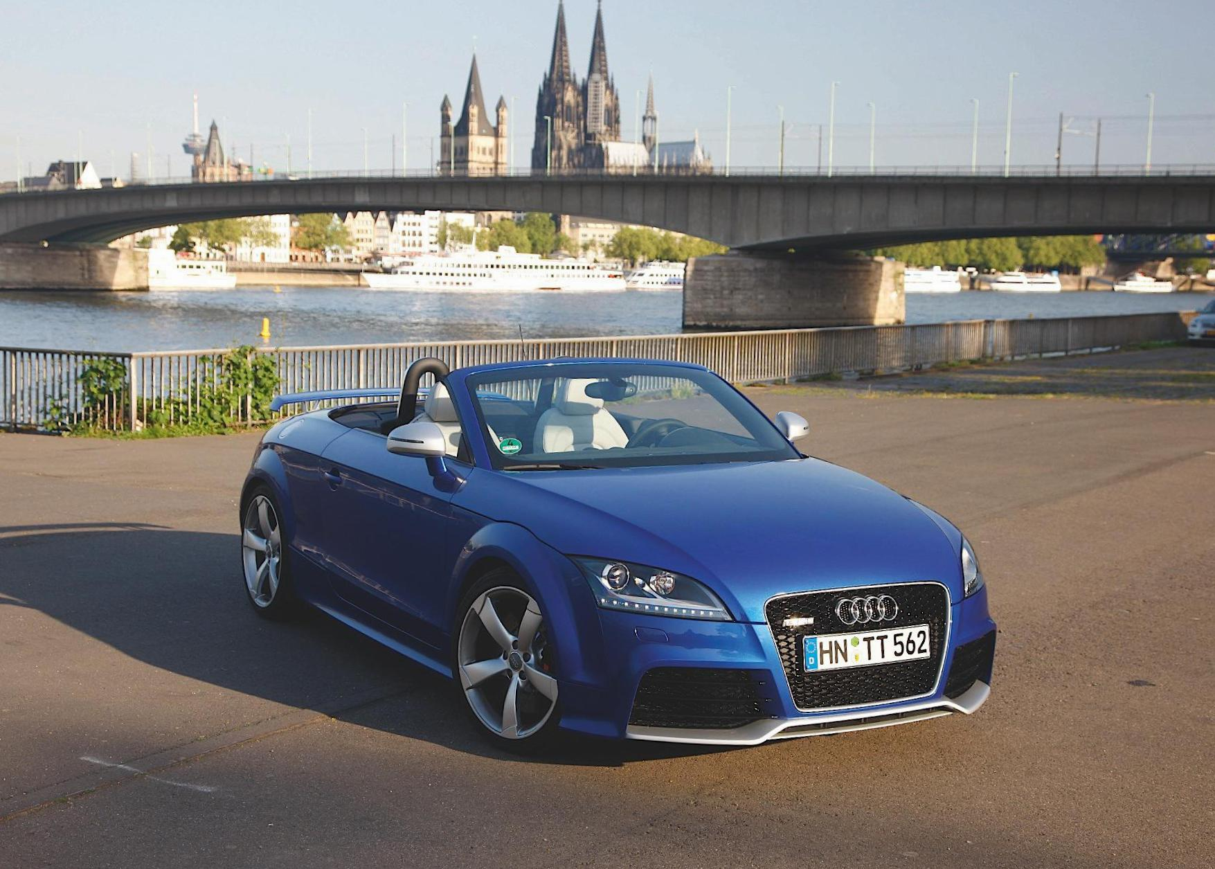Audi TT RS Roadster usa 2015
