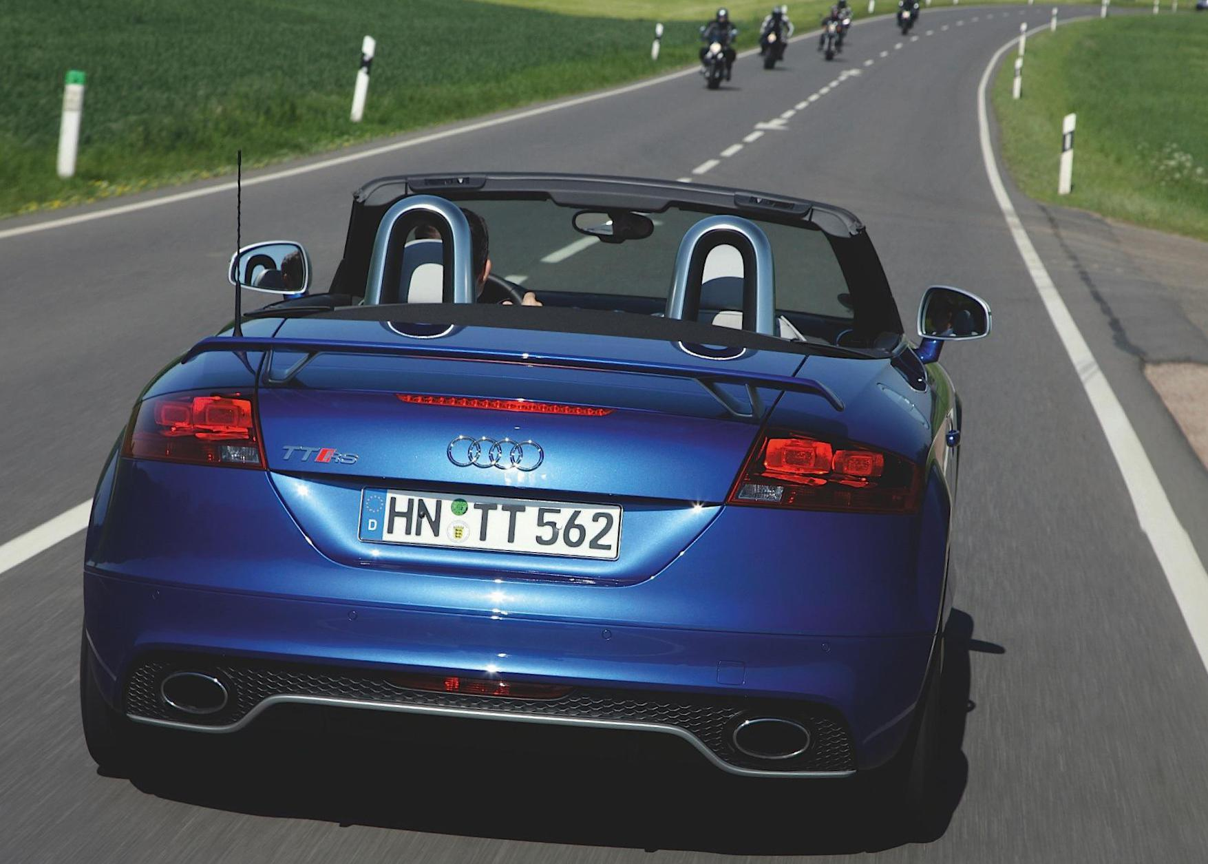 TT RS Roadster Audi sale cabriolet