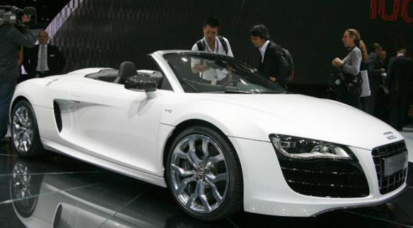 Audi R8 Spyder Photos And Specs Photo Audi R8 Spyder Price And 26