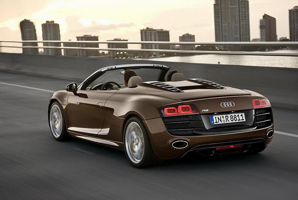 R8 Spyder Audi prices 2014