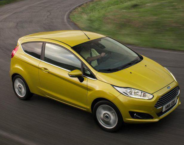 Fiesta 5 doors Ford models 2015