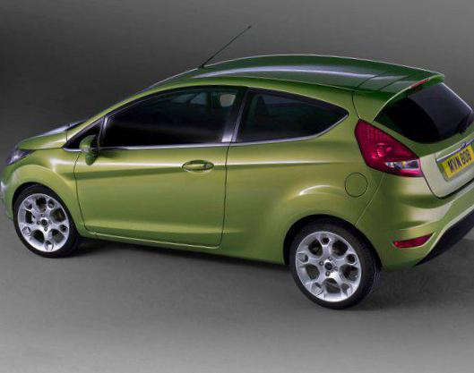 Ford Fiesta 3 doors Specification 2014