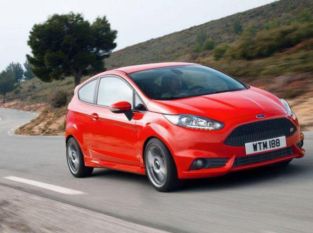 Ford Fiesta ST 3 doors model 2014
