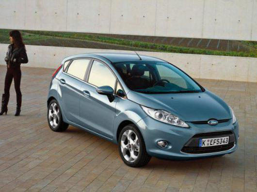 Fiesta 3 doors Ford for sale 2009