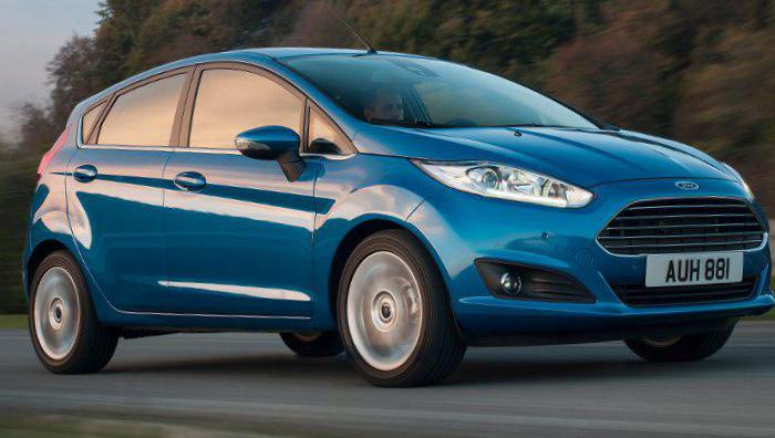 Fiesta 5 doors Ford Specifications 2015