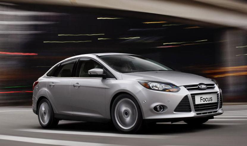Focus Sedan Ford models 2012