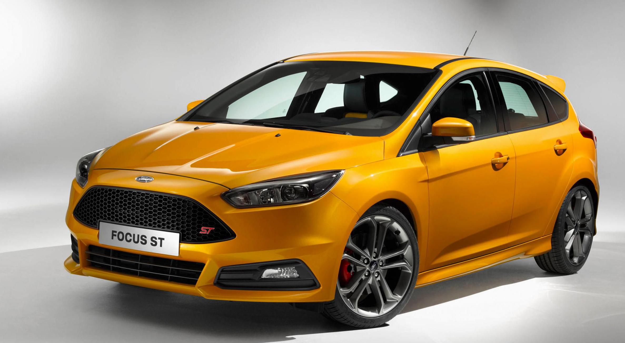 Focus ST Ford Characteristics 2012
