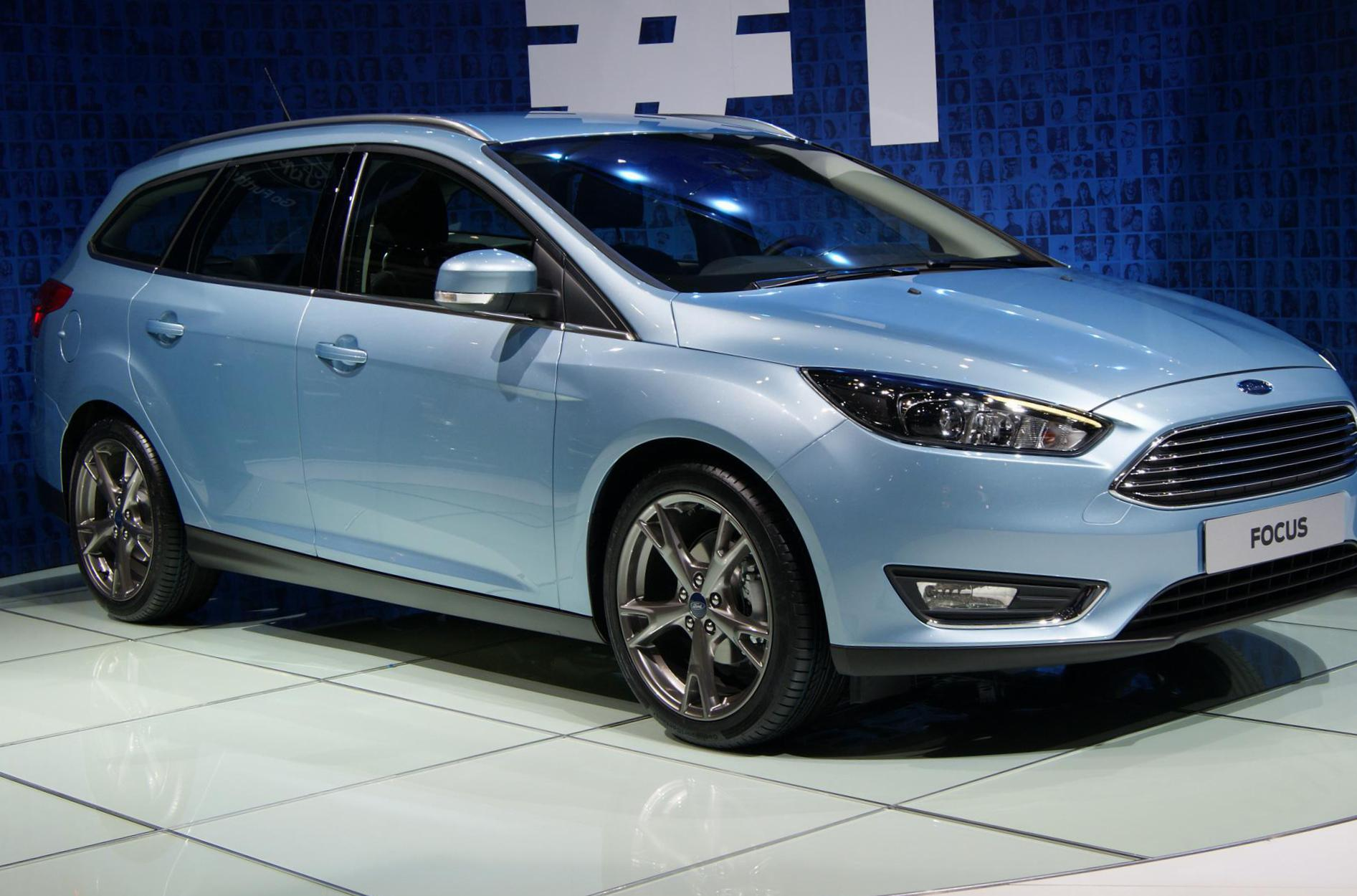 Ford Focus ST Wagon usa coupe