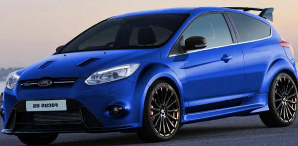 Focus RS Ford models 2007