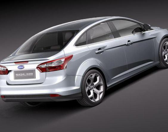 Focus Sedan Ford used 2012