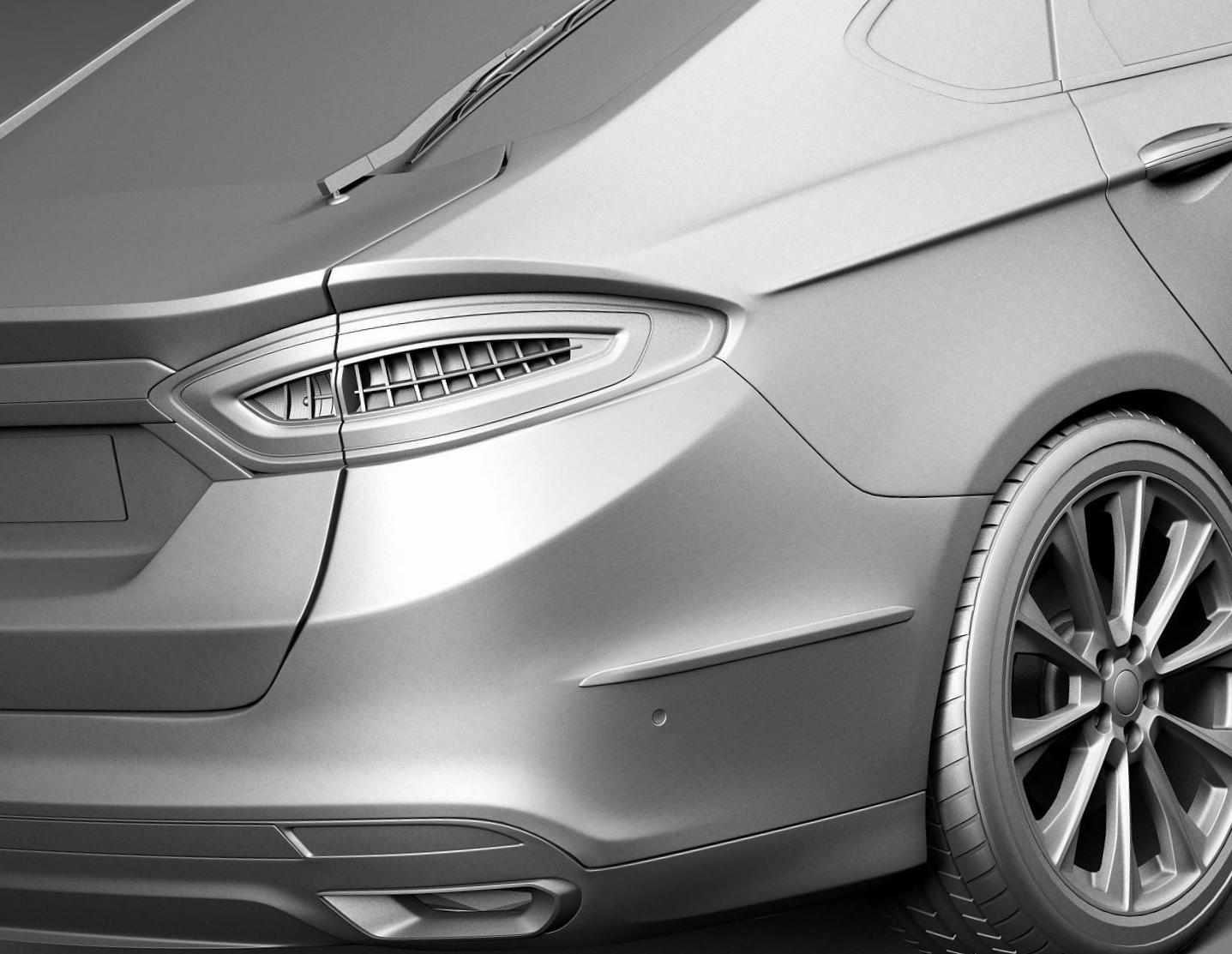 Ford Mondeo Vignale Sedan lease 2013
