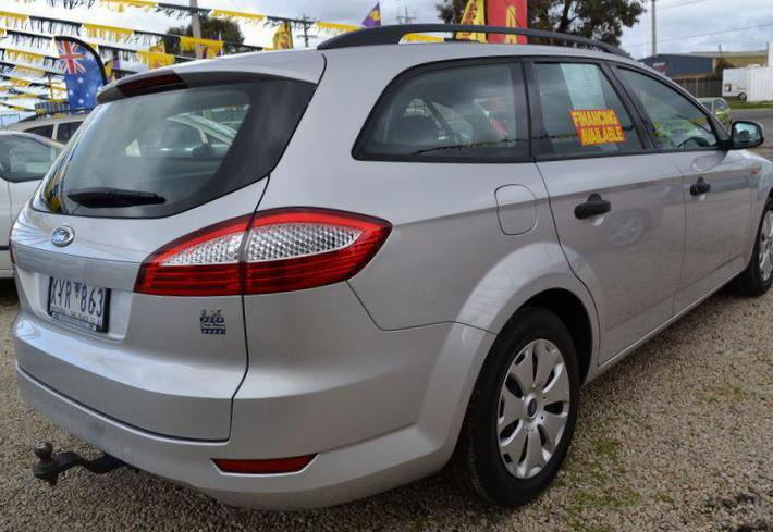 Ford Mondeo Wagon Specification 2009