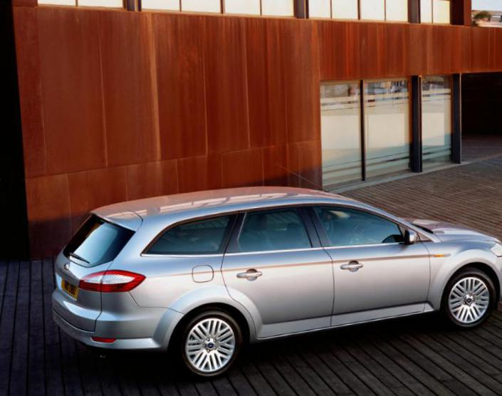 Ford Mondeo Wagon Characteristics coupe