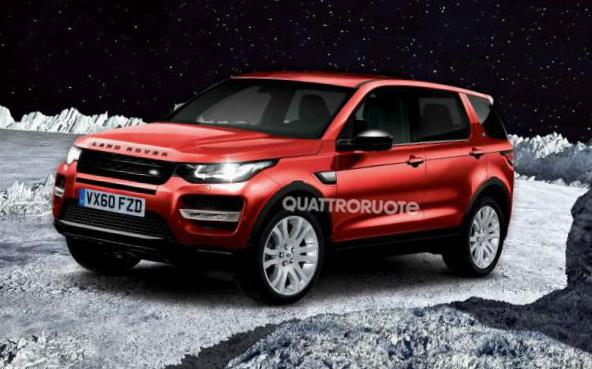 Discovery Sport Land Rover tuning 2014