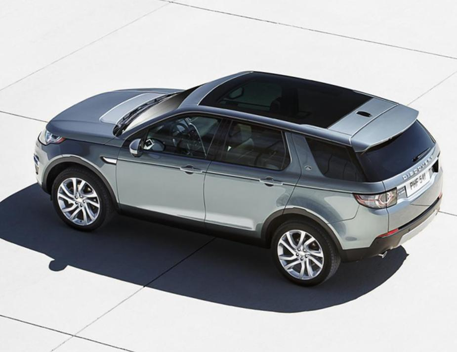 Land Rover Discovery Sport concept sedan