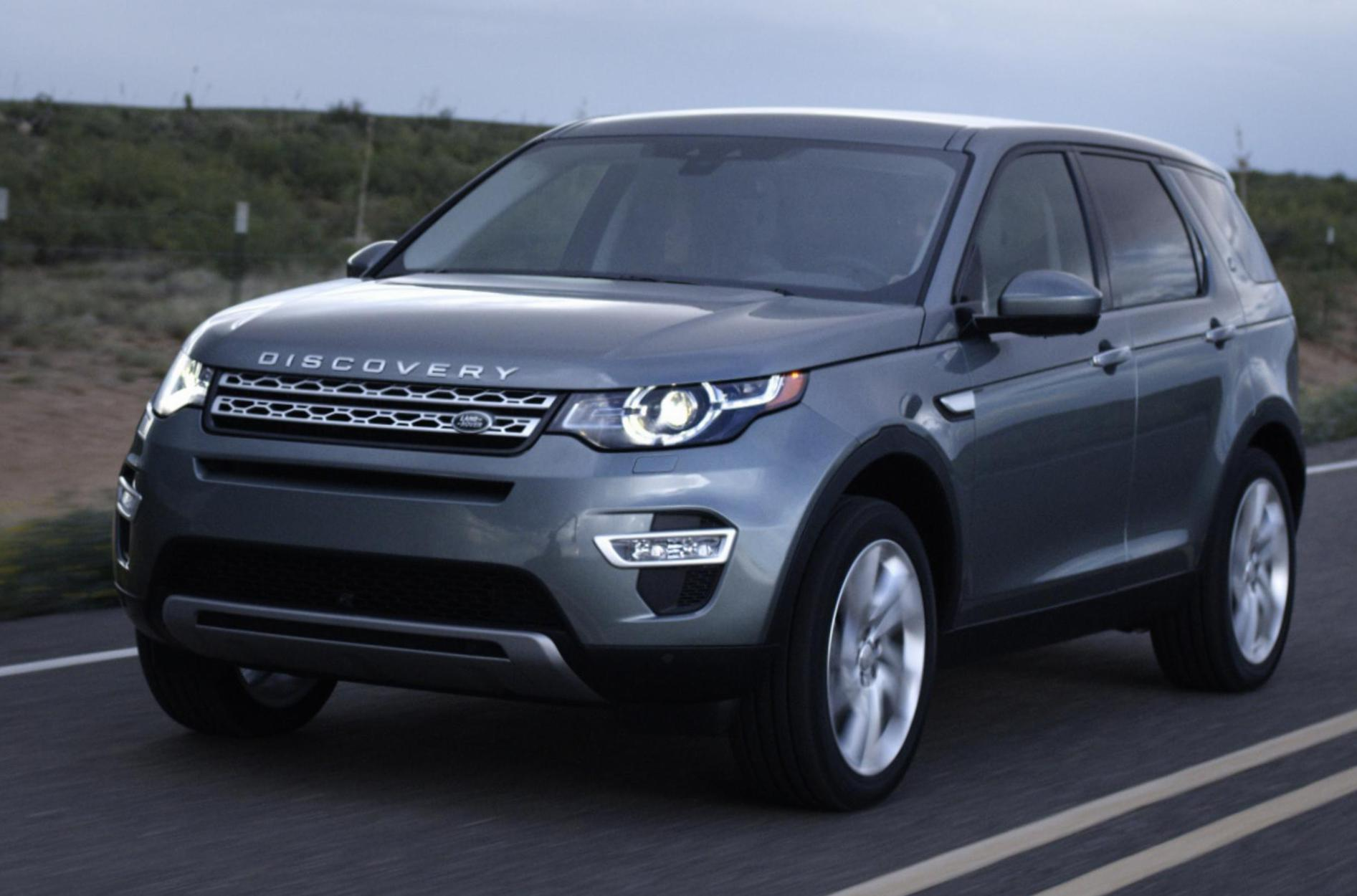 Land Rover Discovery Sport Specifications 2007