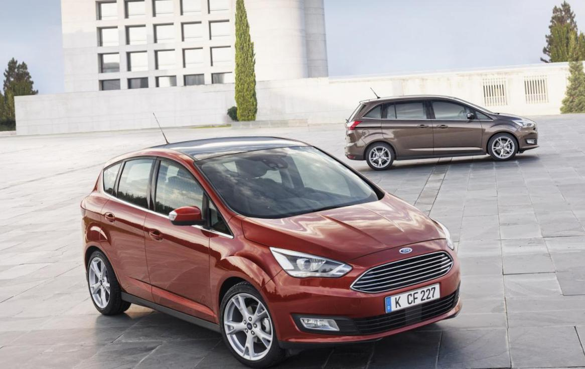 C-Max Ford configuration hatchback