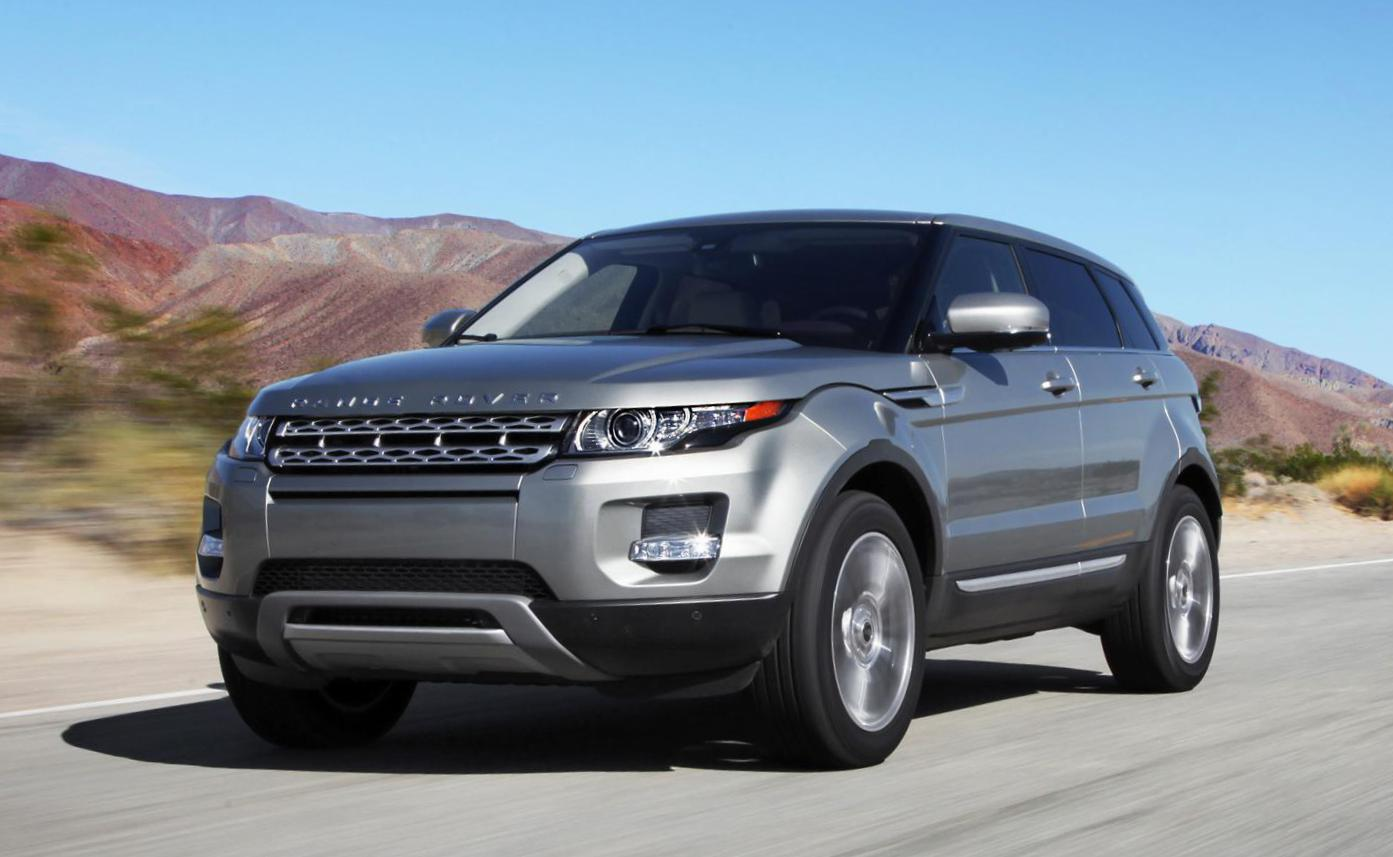 Land Rover Range Rover Evoque configuration sedan