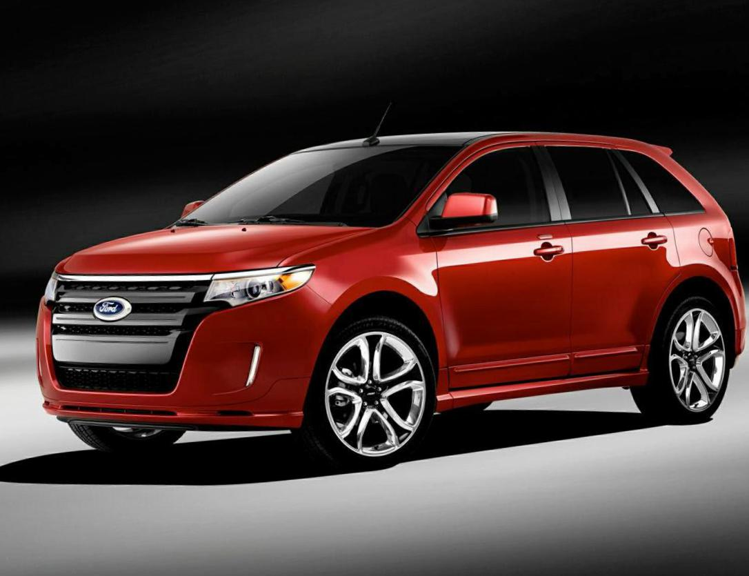 Ford Edge configuration 2012