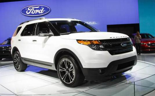 Ford Explorer parts 2010