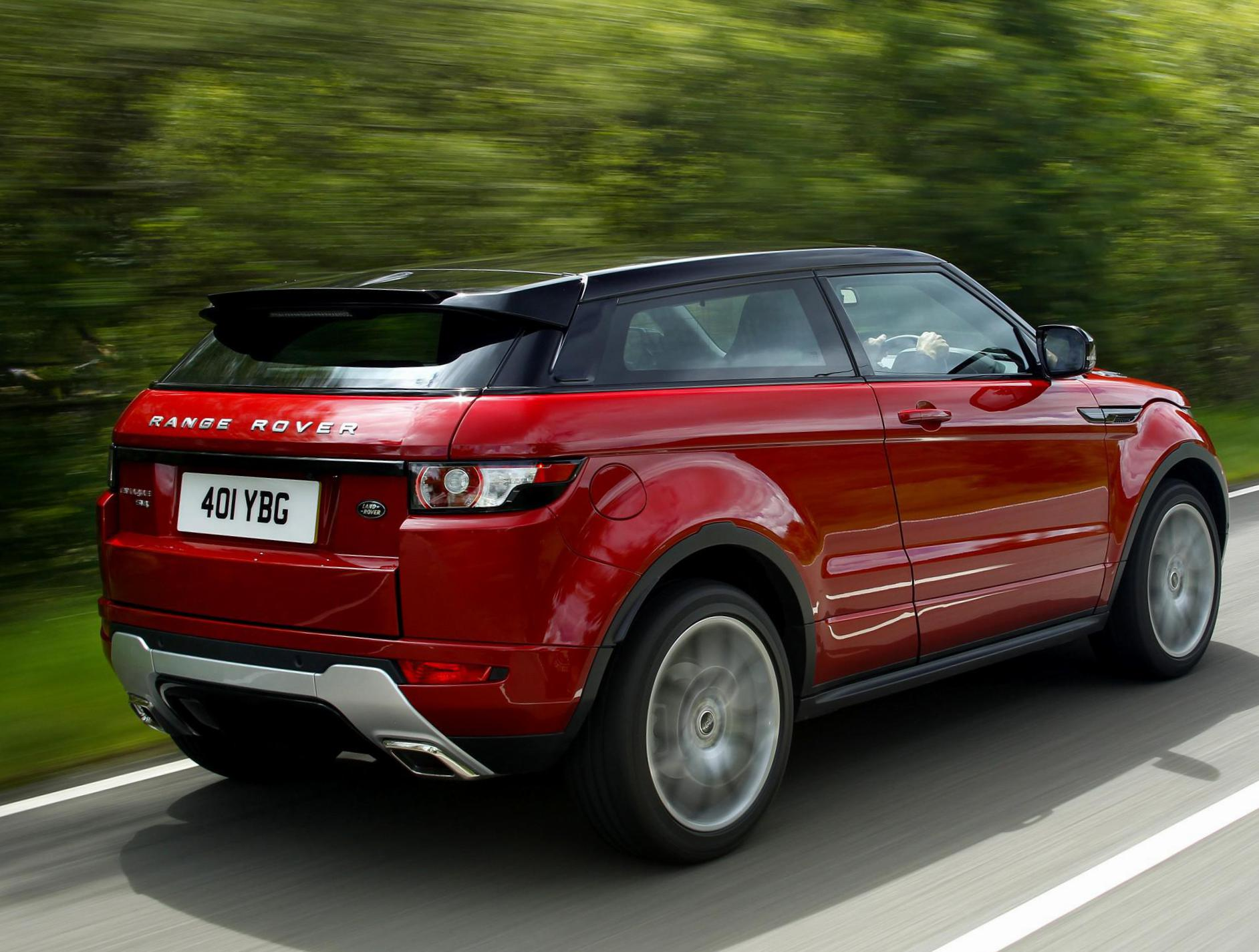 Land Rover Range Rover Evoque Coupe lease suv