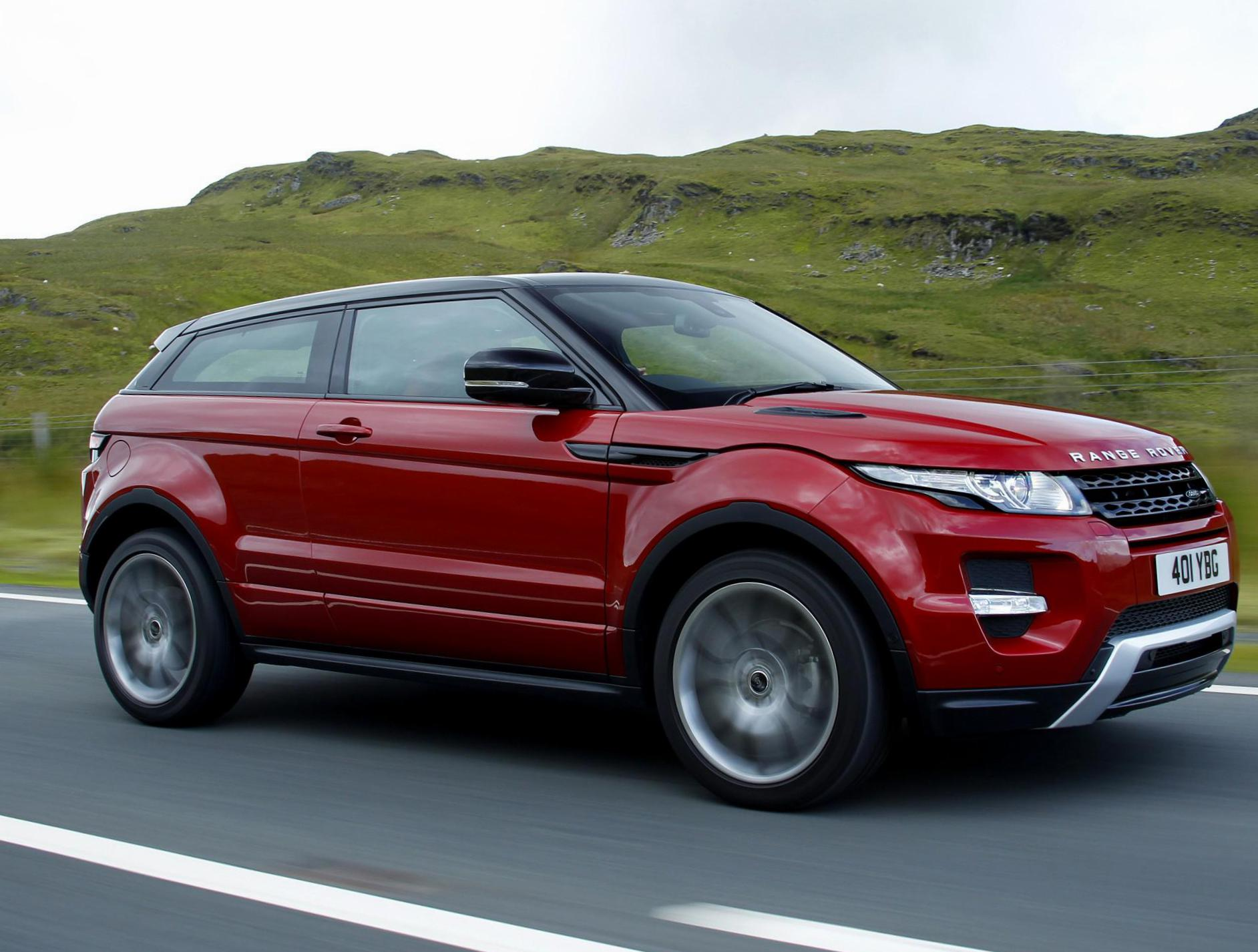 Land Rover Range Rover Evoque Coupe spec 2015