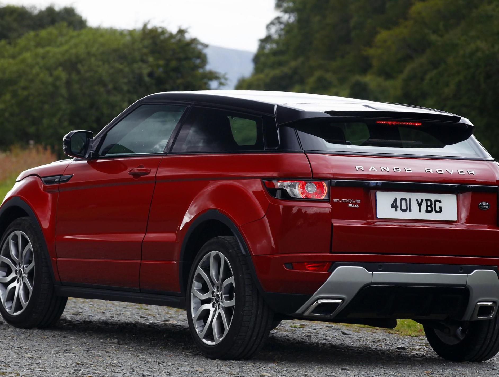 Land Rover Range Rover Evoque Coupe Specification 2012