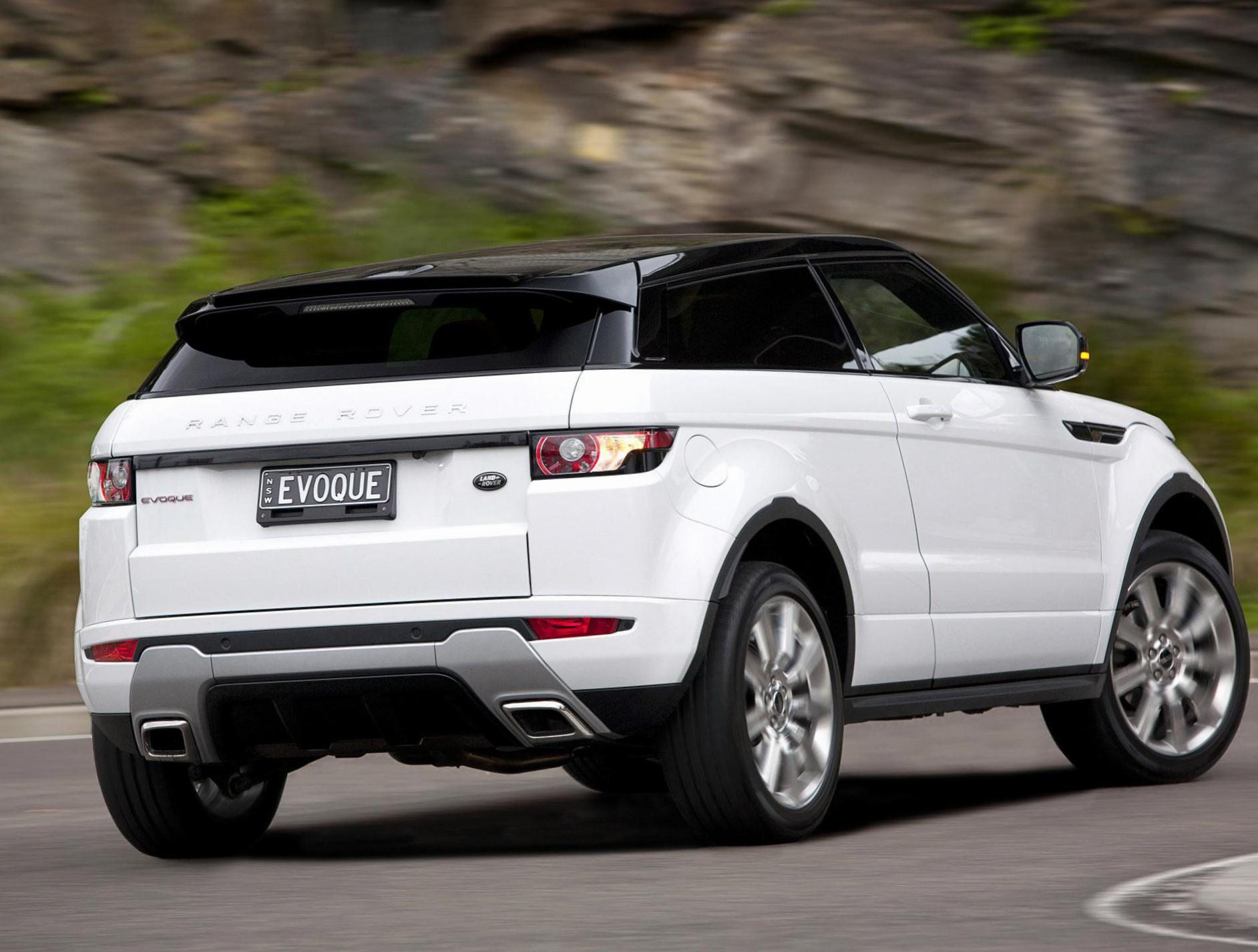 Range Rover Evoque Coupe Land Rover price 2011