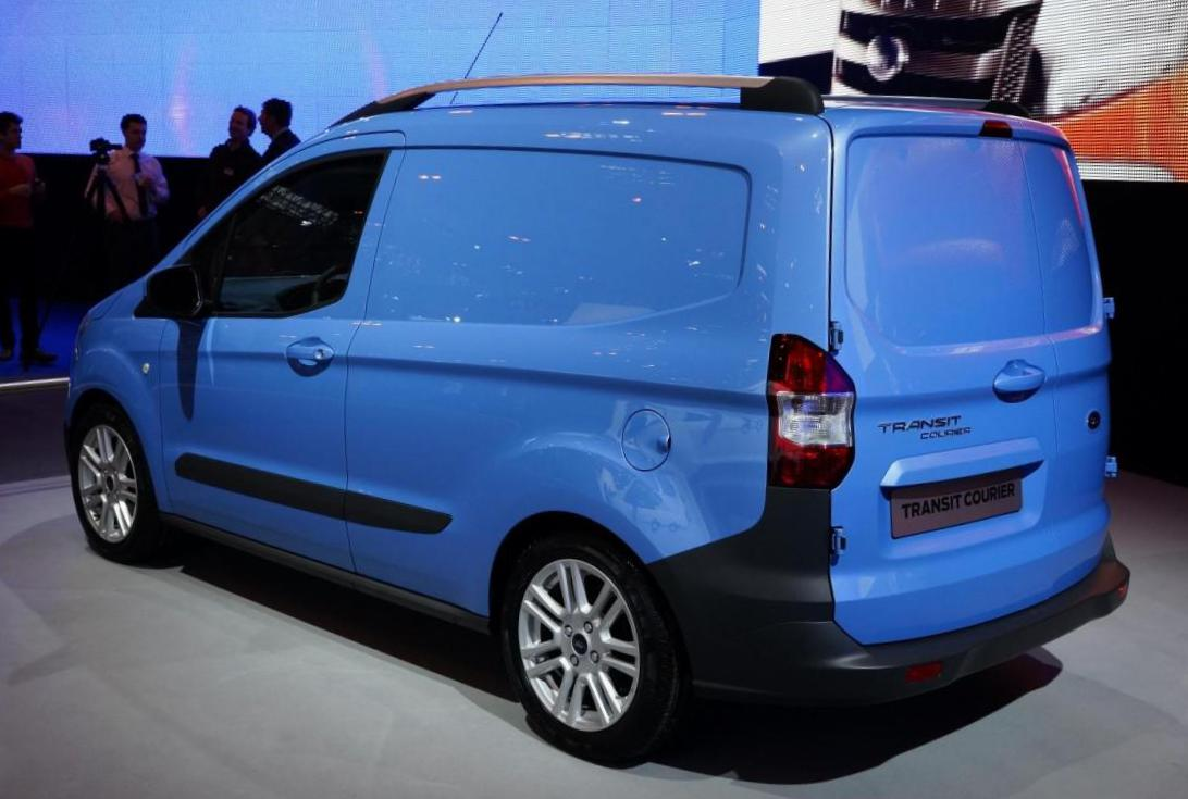 Ford Transit Courier model 2013