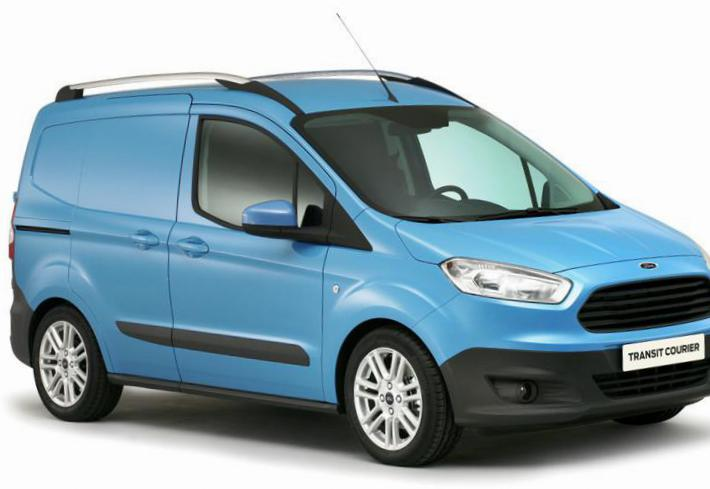Ford Transit Courier review 2012