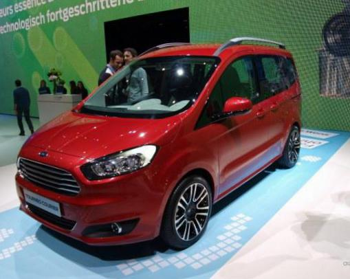 Ford Tourneo Courier new 2011