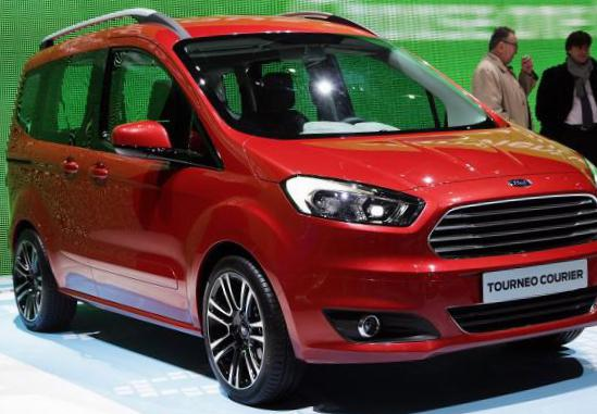 Tourneo Courier Ford Specification 2014
