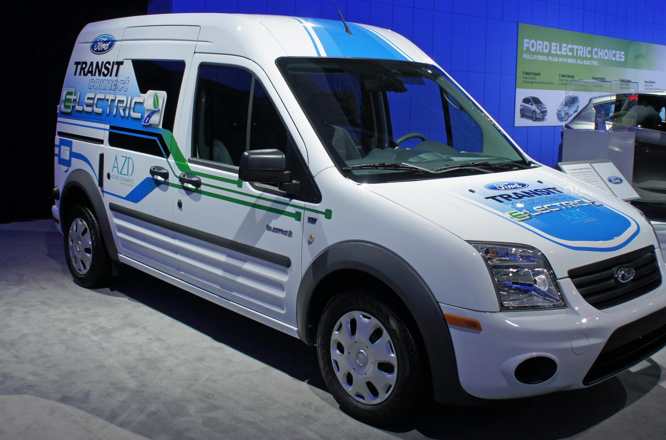 Ford Transit Connect concept 2008
