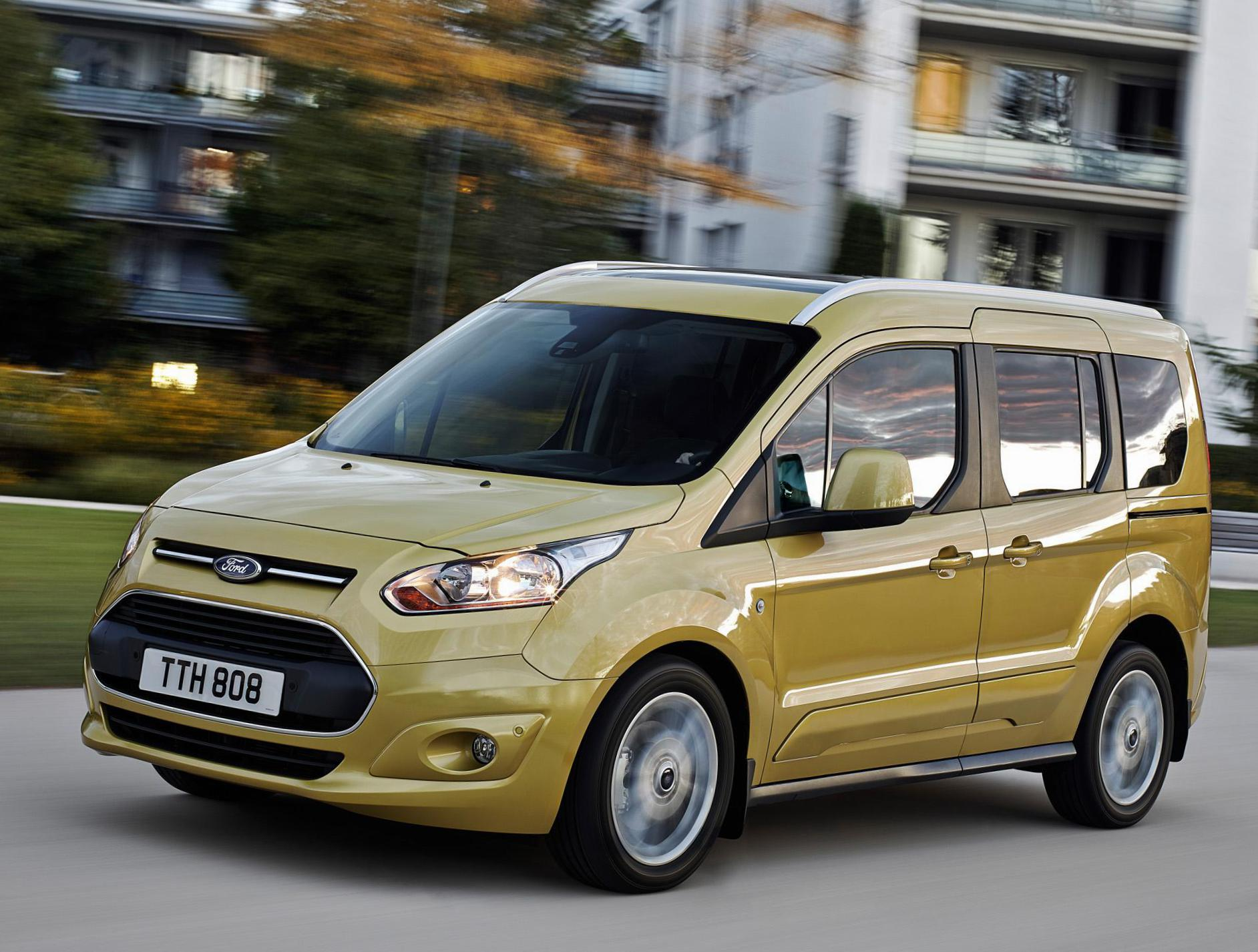 Ford Tourneo Connect cost 2009